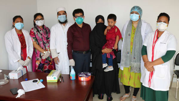 Bangladesh cleft clinic seeing patients again