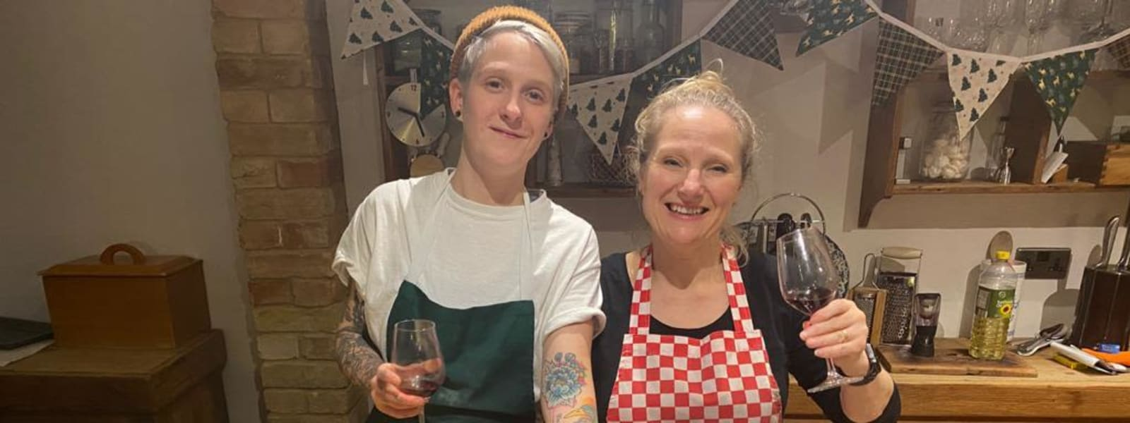Gemma cooks a vegan feast for CLEFT