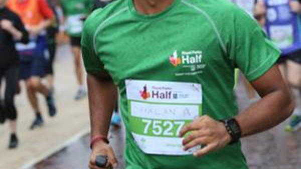 Running the Virtual Royal Parks Half Marathon for CLEFT